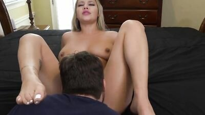 Mature friend licks the crotch and then Fucks her impressive end